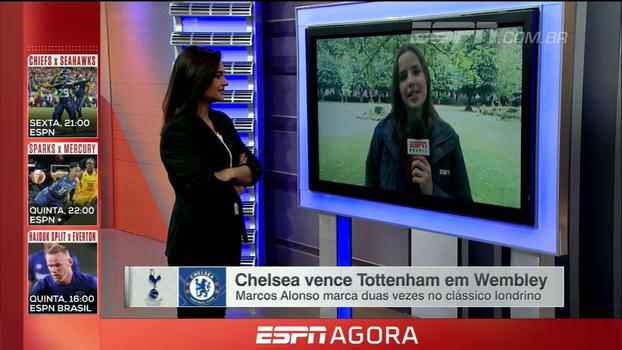 Natalie Gedra conta como foram as vitórias de Chelsea e Manchester United na Premier League