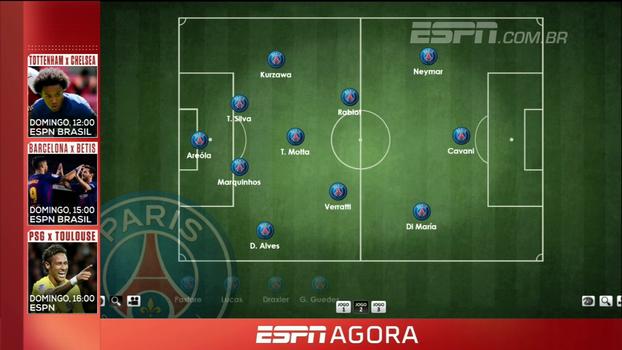 Rafael Oliveira mostra posicionamento de Neymar no PSG: 'Com mais cara de seleção do que de Barcelona'