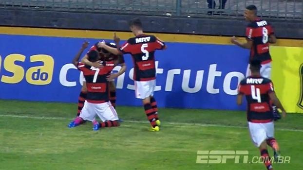 Assista aos melhores momentos da vitória do Flamengo sobre o Avaí por 2 a 0 na Copa do Brasil sub-20