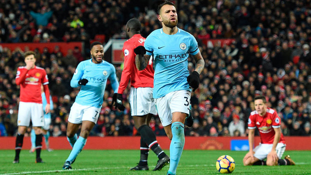 Premier League: Gols de Manchester United 1 x 2 Manchester City