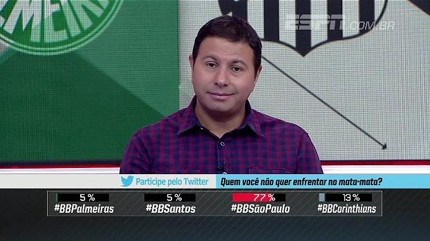 Marra analisa possíveis confrontos nas semifinais do Paulistão: 'Ideal seria fugir do Palmeiras'