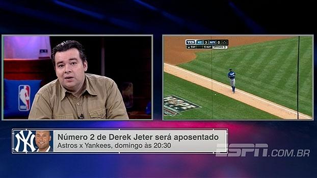 ESPN League destaca homenagens a Derek Jeter: 'Todos querem ser nº 1, mas nº 2 é mais do que suficiente'