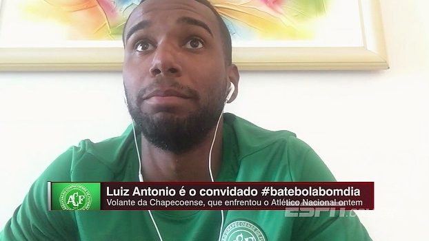 Luiz Antonio: 'A vontade deles (sobreviventes) nos motiva'