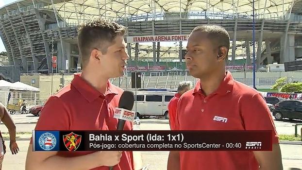 Elton Serra e Flávio Ortega trazem as informações do Bahia antes da final da Copa do Nordeste