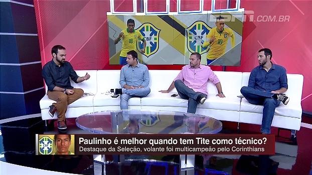 Paulinho é melhor nas mãos de Tite? Bate Bola Bom Dia analisa