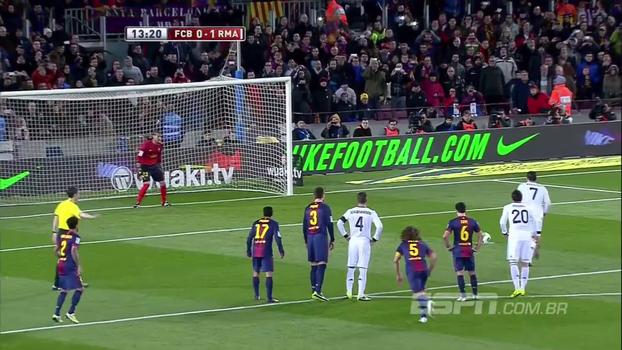 Ronaldo fez dois em pleno Camp Nou e tirou o Barcelona da Copa do Rei de 2013
