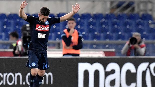 Italiano: Gols de Lazio 1 x 4 Napoli