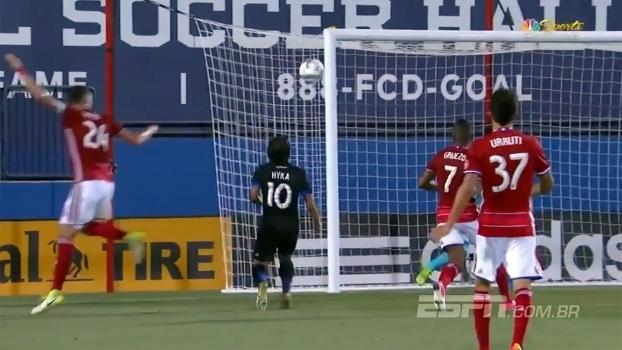 'Messi da Albânia' dá chapeú e faz golaço sem deixar a bola cair na MLS