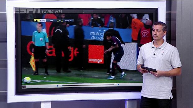 Sálvio analisa lance de expulsão de Neymar no Francês: 'Faltou ação do árbitro'