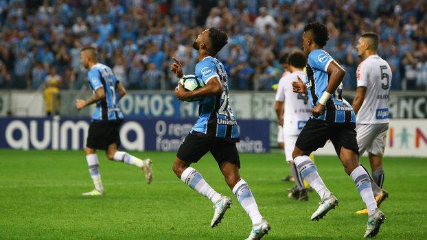 Brasileiro: Gols de Grêmio 1 x 1 Santos