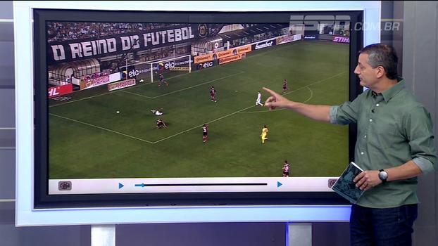 Sálvio analisa pênalti 'desmarcado' para o Santos e diz se árbitro podia mesmo ter voltado atrás