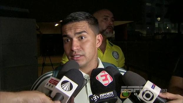 Dudu admite deslocar rival em gol do Palmeiras: 'Se a arbitragem não viu, a gente não pode fazer nada'