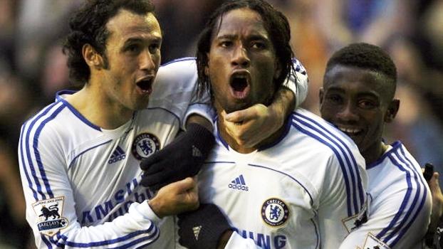 Ballack, Lampard e Drogba: com 3 golaços, Chelsea bateu Everton em grande jogo de 2006