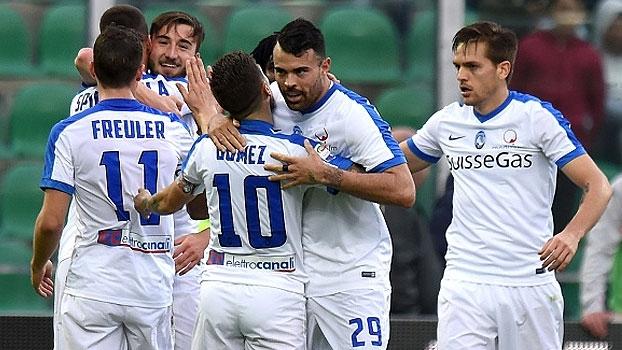Atalanta vence o Palermo fora de casa e segue na cola da Internazionale