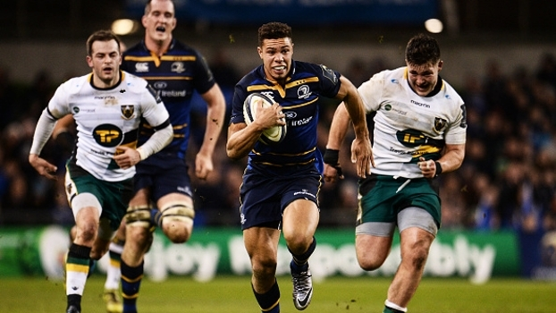 Com direito a sequência avassaladora de tries, Leinster massacra Saints no Europeu de rugby