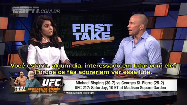 Perguntaram a St. Pierre se ele está interessado em lutar contra Conor McGregor; veja a resposta