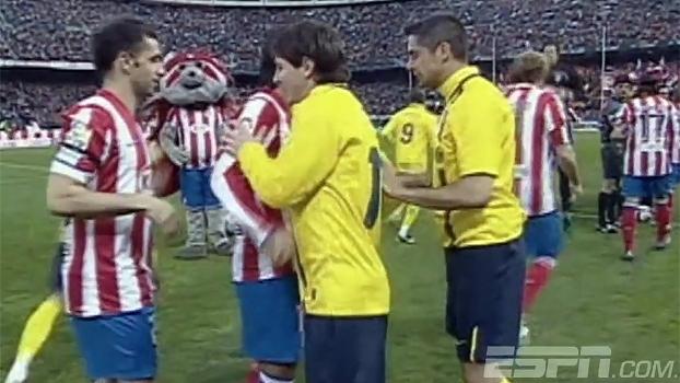 Contra Barça de Guardiola, Atlético ganhou de virada com gol no último minuto de Aguero; relembre