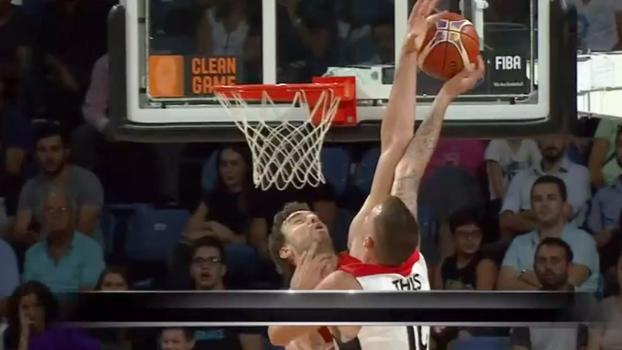 Tocaço de Gasol, passe mágico de Dragic e enterradas: veja o Top 5 de terça na Eurobasket