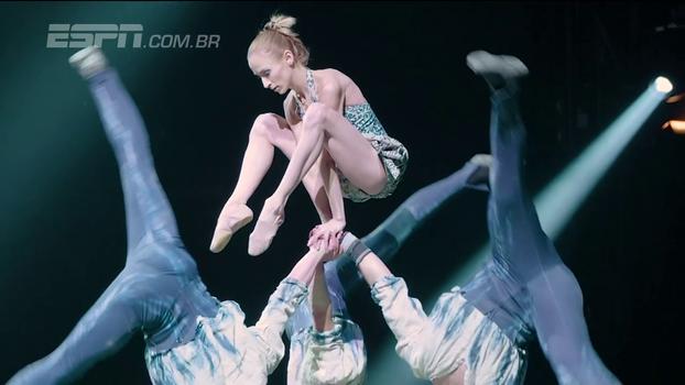 Onde esporte e arte se tornam um só: espetáculo do Cirque du Soleil conta com campeões mundiais