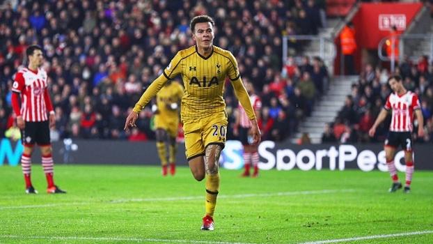 Confira os melhores momentos da vitória por 4 a 1 do Tottenham sobre o Southampton