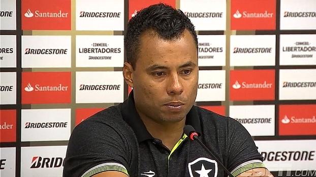 Após vitória do Botafogo na Libertadores, Jair Ventura destaca homogeneidade do grupo e lamenta lesões