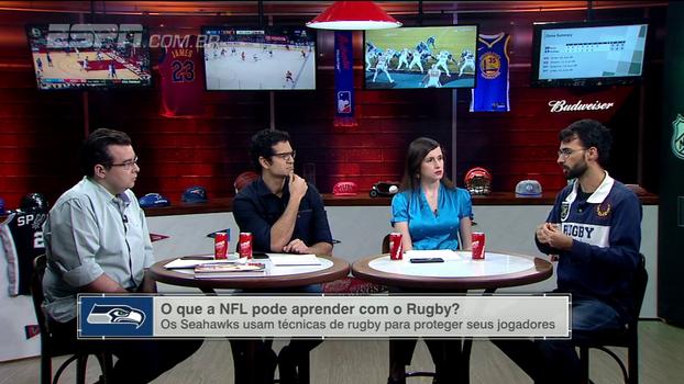 Victor Ramalho, do Portal do Rugby, explica como são dadas as punições no rugby