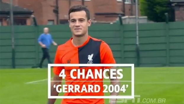 Será que consegue? Coutinho é desafiado a repetir golaço de Gerrard feito há 13 anos