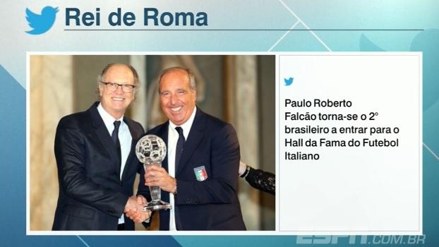 Rei de Roma: Paulo Roberto Falcão entra para o Hall Da Fama do futebol italiano