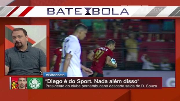 Relação difícill com Luxemburgo, Libertadores; motivos de Diego Souza ir para o Palmeiras