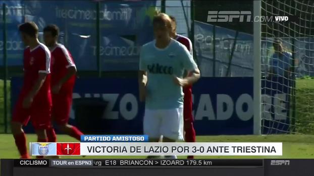 Na estreia de Lucas Leiva, Lazio vence Triestina com gol de Immobile