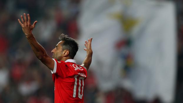Português: Melhores momentos de Benfica 1 x 0 Feirense