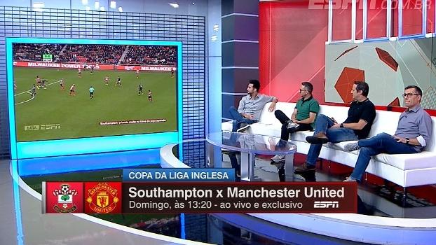 Gian e DataESPN analisam Southampton e Man. United, duelo de domingo pela Copa da Liga