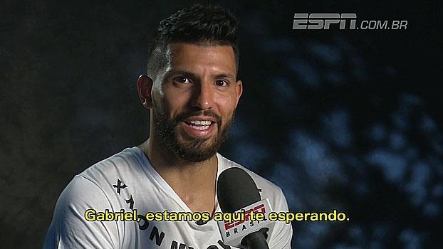 Com seis gols no inínio do Inglês, Agüero fala sobre temporada e manda recado à Gabriel Jesus
