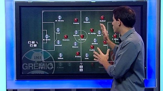 'Brasileirão ESPN': Rafa Oliveira analisa as novidades no duelo Grêmio x Fla