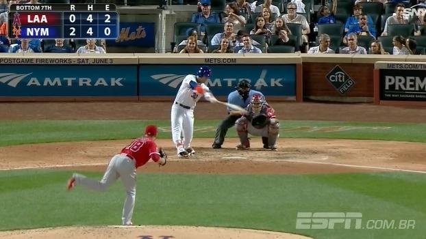 New York Mets vence Los Angeles Angels e interrompe série de derrotas