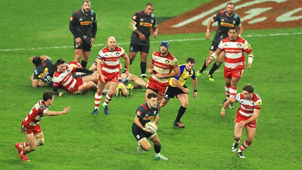 Gloucester reage no final, mas perde para Harlequins na Premiership Rugby