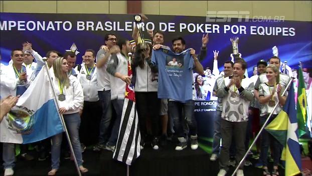 Com formato 'tipo Brasileirão' e torcida de Neymar, equipe paulista conquista título do Brasileiro de Poker por equipes