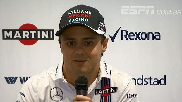 Veja o anúncio da aposentadoria de Felipe Massa