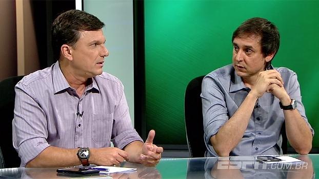 Mauro analisa possibilidades de montagem do Flamengo e diz: 'Zé Ricardo não tem que pensar no Conca agora'