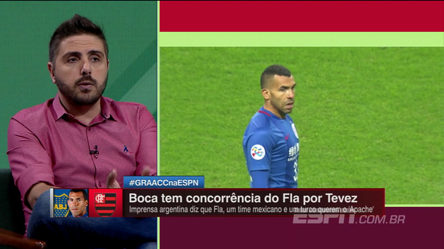 Tévez no Flamengo? Comentaristas do Bate Bola Debate analisam a possibilidade