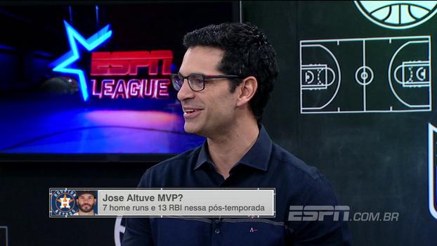 Paulo Antunes destaca números de José Altuve e diz que o venezuelano é um dos favoritos a MVP