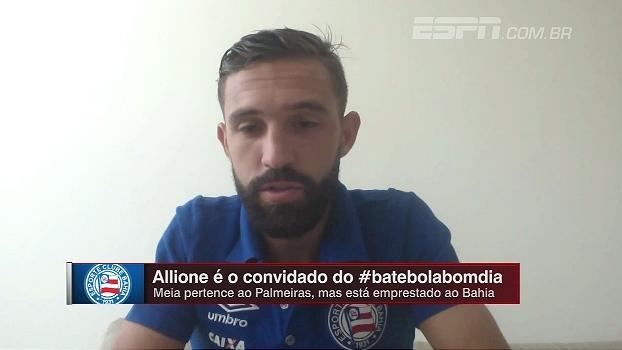 Para Allione, Copa do Nordeste e Campeonato Baiano servem como preparação para o Brasileiro