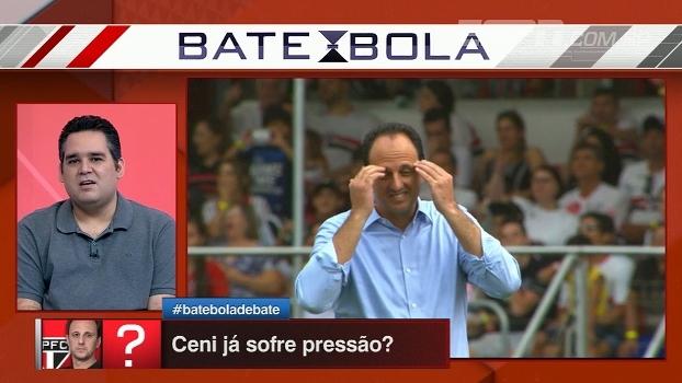 Bertozzi analisa alternativas para o gol do São Paulo e não vê Denis como goleiro titular