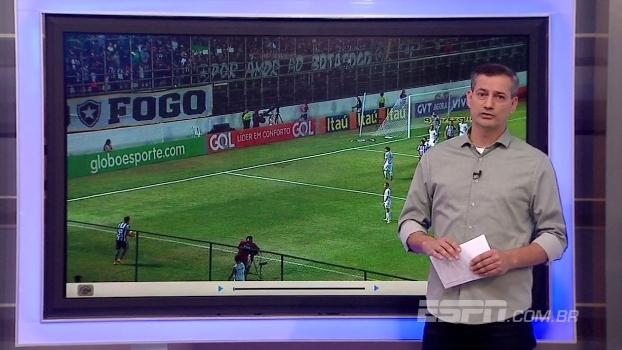 Para Sálvio, árbitro acertou em lances capitais do jogo entre Botafogo e Santos