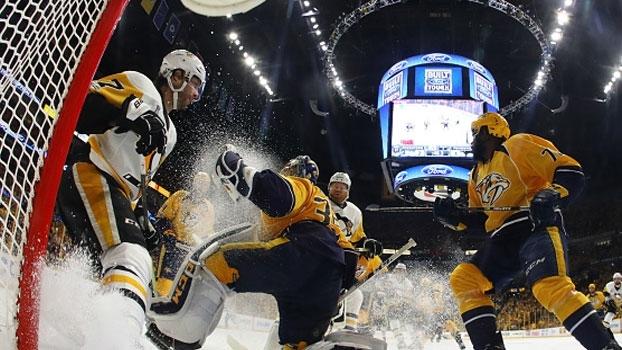 Predators vencem Penguins e diminuem a série para 2 a 1