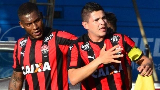 00681fcdebc21 Baiano (final - ida)  Gols de Vitória 2 x 0 Bahia - ESPN