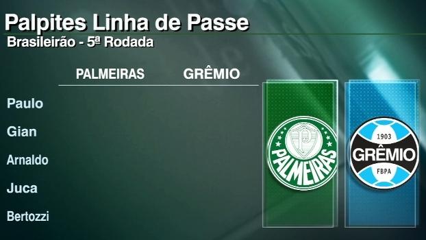 Assista aos palpites do 'Linha de Passe' para os jogos da 5ª rodada do Brasileiro