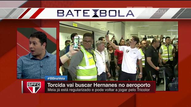 Marra vê queda na carreira de Hernanes, mas espera 'liderança técnica' do meia no São Paulo: 'Ainda dá um caldo'
