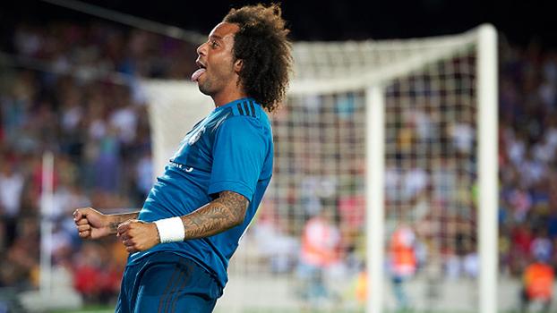 'Assistência' para gol contra, drible da foca e mais: veja como Marcelo atormentou o Barcelona pela esquerda