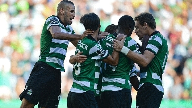Português: Gols de Sporting 2 x 1 Porto
